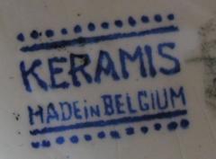 Boch Fr res Keramis Co Rare Boch Pottery Vase - 1482766