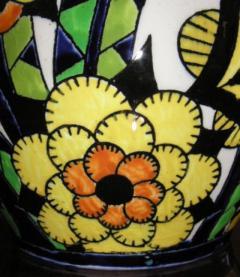 Boch Fr res Keramis Co Rare Boch Pottery Vase - 1482767