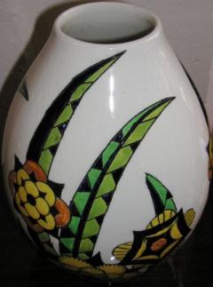 Boch Fr res Keramis Co Rare Boch Pottery Vase - 1482769