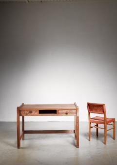 Bodafors Oak ladys desk with Axel Larsson chair - 881846