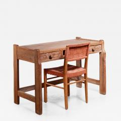 Bodafors Oak ladys desk with Axel Larsson chair - 882538