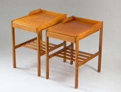 Bodafors Scandinavian Midcentury Bedside Tables by Bertil Fridhagen for Bodafors 1960s - 1690175