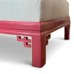 Boet Sweden Exceptional Daybed in Vermillion Lacquer by Otto Schulz for Boet - 1879040