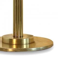 Bohlmarks AB Art Deco Brass Desk Lamp Attributed to Bohlmarks - 1631455
