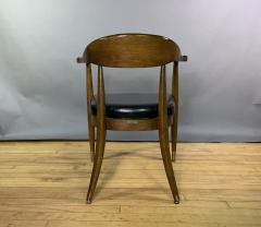 Boling Chair Company 1950s American Modern Walnut Armchair Boling Chair Co  - 1805933