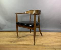 Boling Chair Company 1950s American Modern Walnut Armchair Boling Chair Co  - 1805934