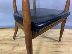 Boling Chair Company 1950s American Modern Walnut Armchair Boling Chair Co  - 1805935