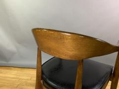 Boling Chair Company 1950s American Modern Walnut Armchair Boling Chair Co  - 1805936