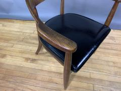 Boling Chair Company 1950s American Modern Walnut Armchair Boling Chair Co  - 1805937