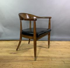 Boling Chair Company 1950s American Modern Walnut Armchair Boling Chair Co  - 1805939