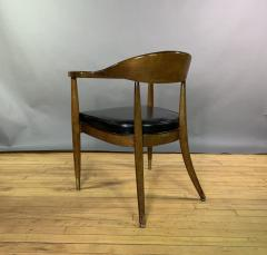 Boling Chair Company 1950s American Modern Walnut Armchair Boling Chair Co  - 1805940