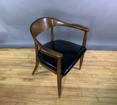 Boling Chair Company 1950s American Modern Walnut Armchair Boling Chair Co  - 1805941