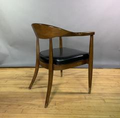 Boling Chair Company 1950s American Modern Walnut Armchair Boling Chair Co  - 1805942