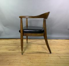 Boling Chair Company 1950s American Modern Walnut Armchair Boling Chair Co  - 1805943