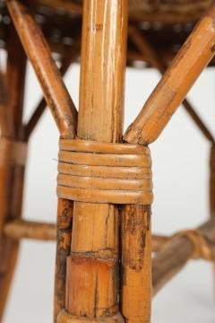 Bonacina Bonacina stool bamboo and rattan braided - 1908188