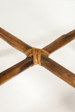 Bonacina Bonacina stool bamboo and rattan braided - 1908197