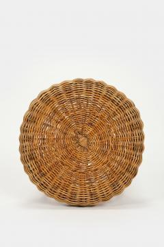 Bonacina Bonacina stool bamboo and rattan braided - 1908201
