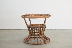 Bonacina ITALIAN RATTAN TABLE - 1964797