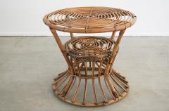 Bonacina ITALIAN RATTAN TABLE - 1964798