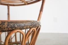 Bonacina ITALIAN RATTAN TABLE - 1964863