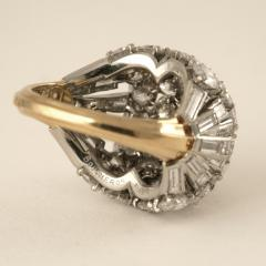 Boucheron Boucheron Diamond Platinum and Gold Bomb Ring - 293788