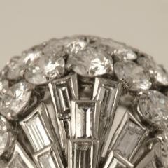 Boucheron Boucheron Diamond Platinum and Gold Bomb Ring - 293790