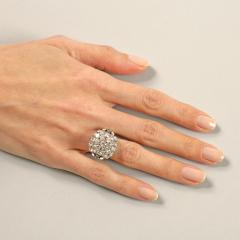 Boucheron Boucheron Diamond Platinum and Gold Bomb Ring - 293791