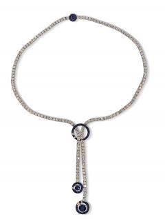 Boucheron Boucheron Paris Diamond Sapphire Ava Necklace - 2051773