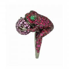 Boucheron Boucheron Paris Grenouille Frog Ring - 689554