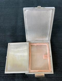 Boucheron Vintage French Silver Compact Case by Boucheron Paris - 1808720