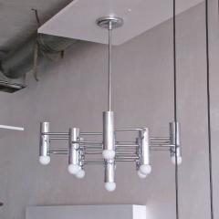 Boulanger Chrome Chandelier by Boulanger 1960 - 660722