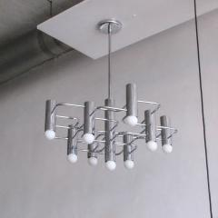 Boulanger Chrome Chandelier by Boulanger 1960 - 660725