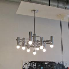 Boulanger Chrome Chandelier by Boulanger 1960 - 660726