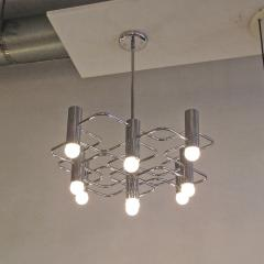 Boulanger Chrome Chandelier by Boulanger 1960 - 660729