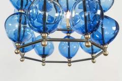 Bourgeois Boheme Atelier Aqua Blue Opera Chandelier by Bourgeois Boheme Atelier - 474301