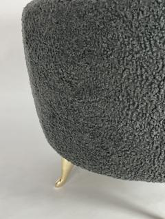 Bourgeois Boheme Atelier Arc Poof Charcoal Boucle - 2108531