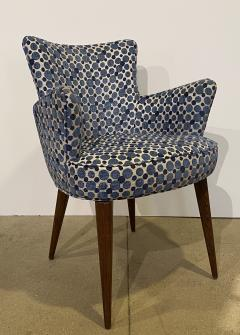Bourgeois Boheme Atelier Pair of Aube Chairs Polka Dot Fabric - 1591944