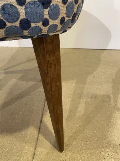 Bourgeois Boheme Atelier Pair of Aube Chairs Polka Dot Fabric - 1591947