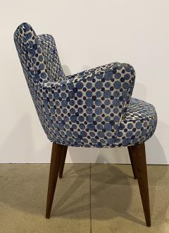 Bourgeois Boheme Atelier Pair of Aube Chairs Polka Dot Fabric - 1591948