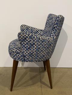 Bourgeois Boheme Atelier Pair of Aube Chairs Polka Dot Fabric - 1591950