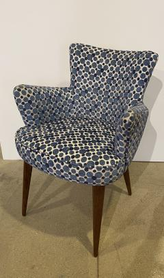 Bourgeois Boheme Atelier Pair of Aube Chairs Polka Dot Fabric - 1591953