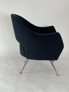 Bourgeois Boheme Atelier Pair of Briance Chairs Black Nickel Legs - 1181165
