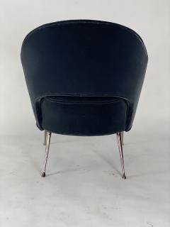 Bourgeois Boheme Atelier Pair of Briance Chairs Black Nickel Legs - 1181167