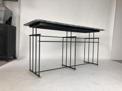 Bourgeois Boheme Atelier Plaissance Table Crystalized Marble Top - 1119384