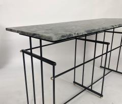 Bourgeois Boheme Atelier Plaissance Table Crystalized Marble Top - 1119390