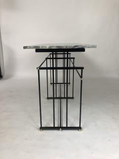 Bourgeois Boheme Atelier Plaissance Table Crystalized Marble Top - 1119391