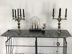 Bourgeois Boheme Atelier Plaissance Table Crystalized Marble Top - 1119392
