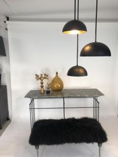 Bourgeois Boheme Atelier Plaissance Table Crystalized Marble Top - 1119393