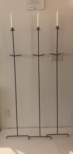 Bourgeois Boheme Atelier Single Font Albe Candle Wall Candle Stick Oxidized - 1159710