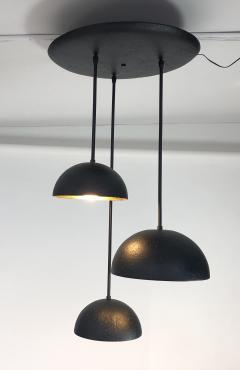 Bourgeois Boheme Atelier St Germain Trio Matte Black Plaster of Paris - 1927247